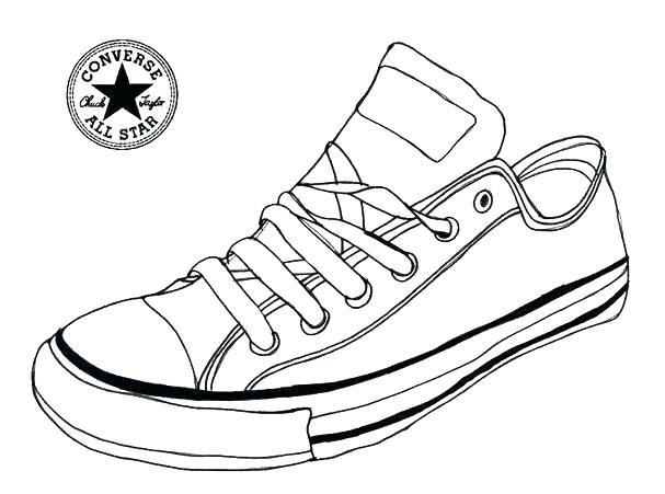 607x451 Running Shoes Coloring Pages Shoes Coloring Pages Shoe Coloring