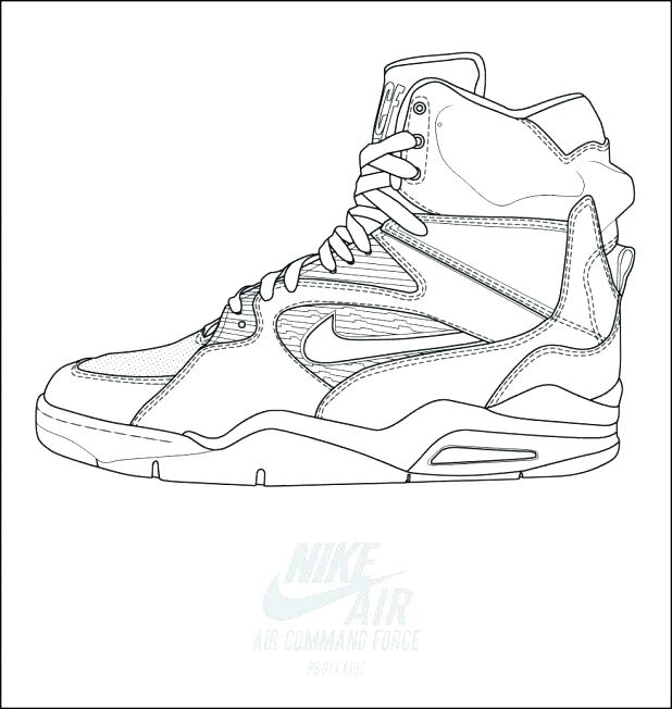 618x652 Shoe Color Page Air Force Coloring Pages Adult Pics Of Soccer