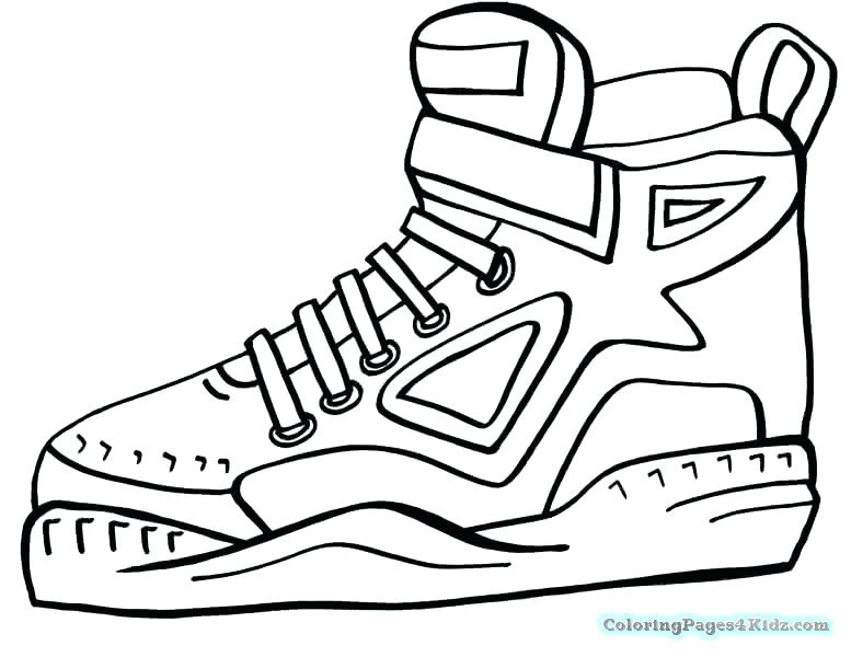 777x600 Tennis Shoes Coloring Sheets Page Pa Tennis Coloring Pages Boy