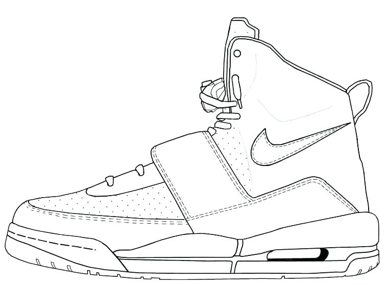 760x558 Coloring Pages Shoes