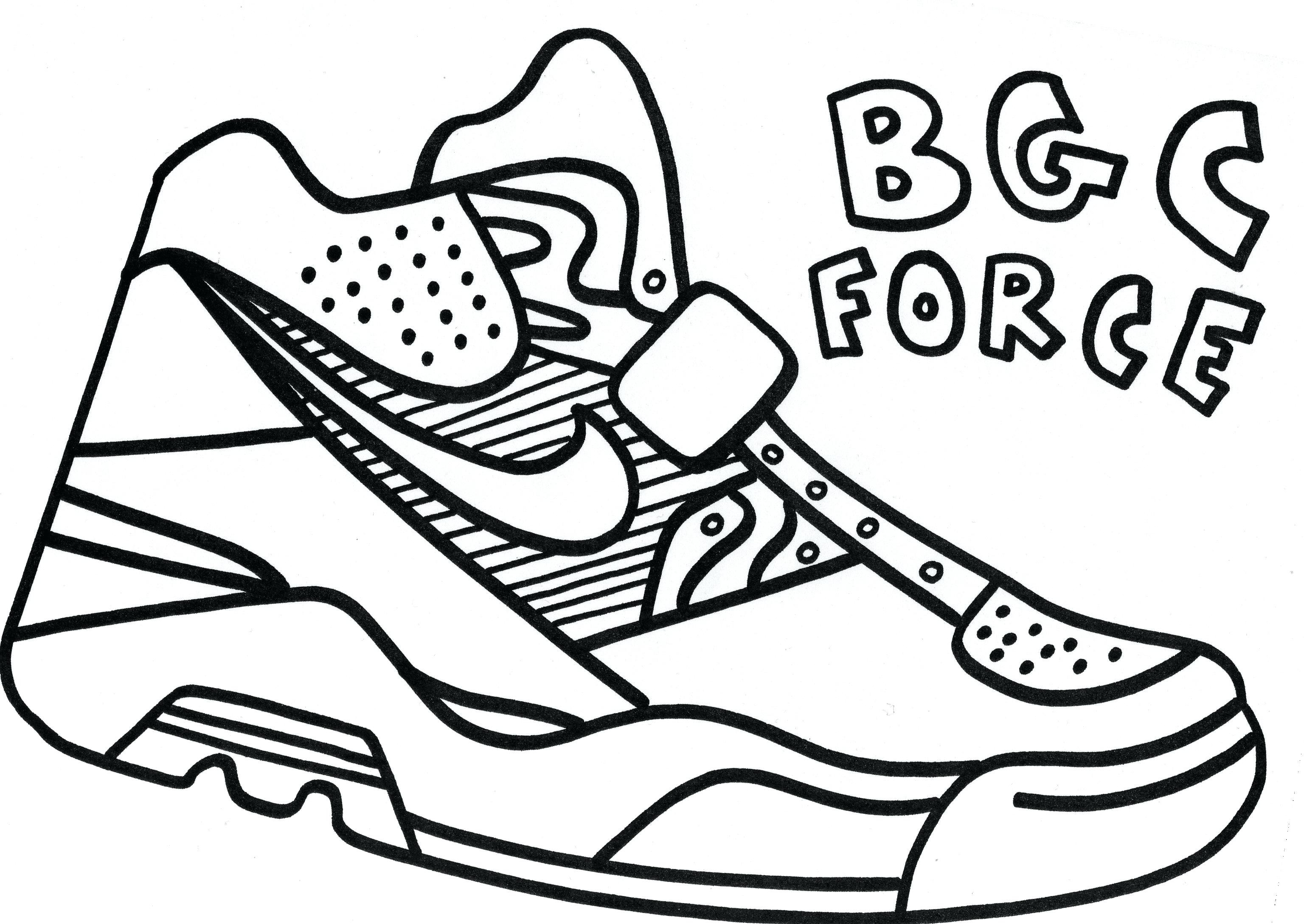 3072x2178 Coloring Pages Of Kd Shoes Copy Coloring Pages Nike Shoes Refrence