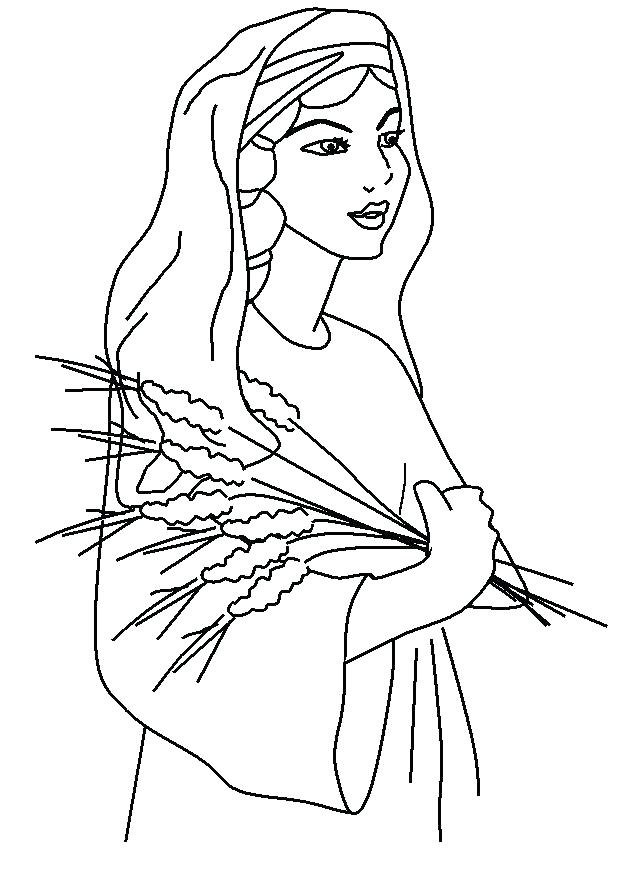 625x872 Ruth Naomi Coloring Pages Coloring Pages Coloring Page