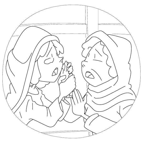 600x600 Ruth And Naomi Coloring Pages And Ruth Naomi Boaz Coloring Pages