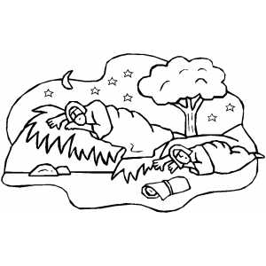 300x300 Ruth And Boaz Coloring Page