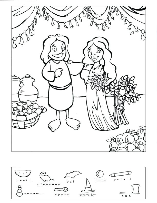 612x792 Ruth And Naomi Coloring Pages Image Result For Cartoon Art