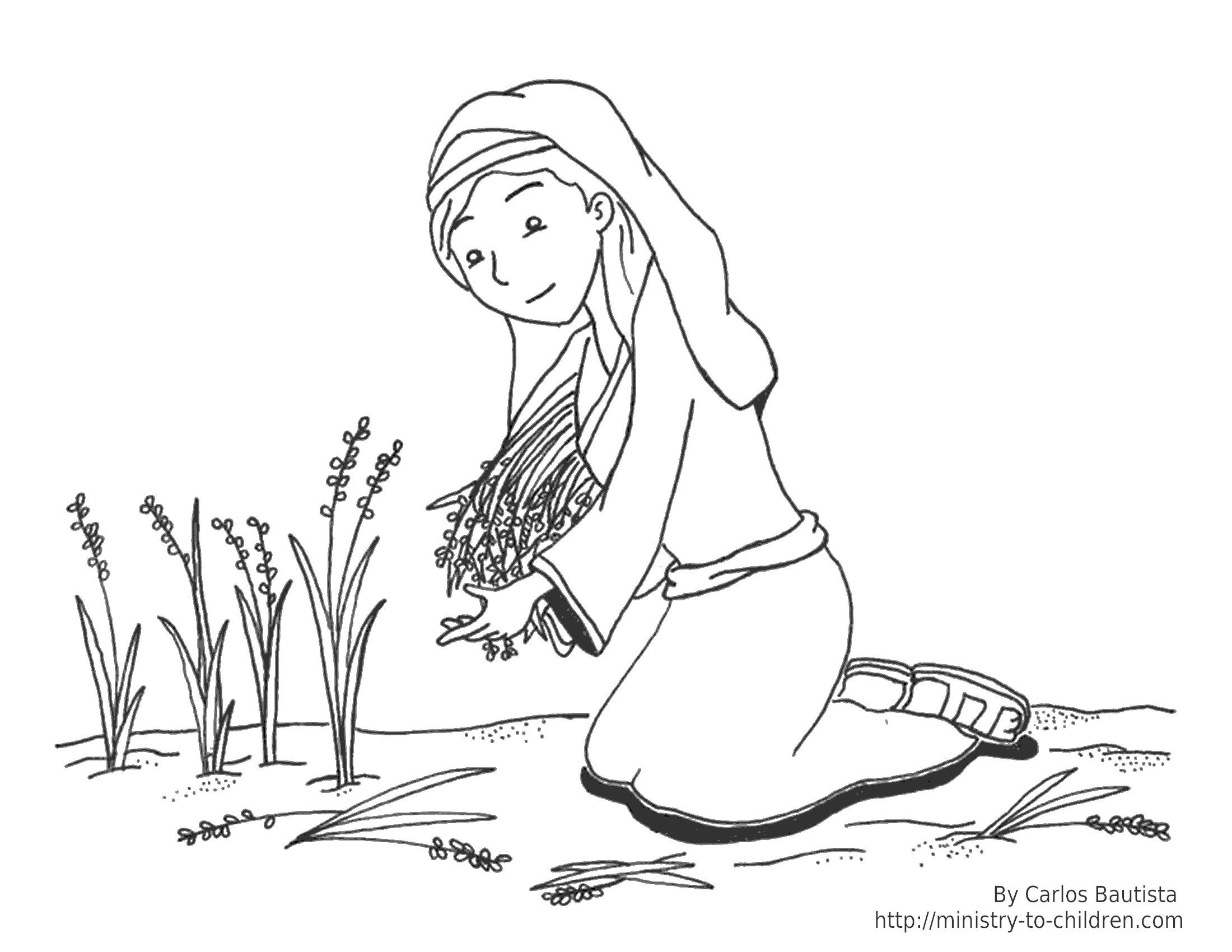 2200x1700 Ruth And Naomi Coloring Pages Best Of Fine Children Bible Stories