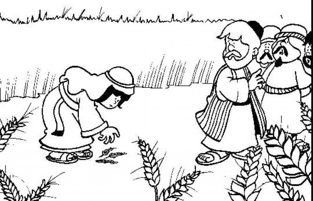 1024x659 Ruth And Naomi Coloring Pages Ruth And Naomi Coloring Page