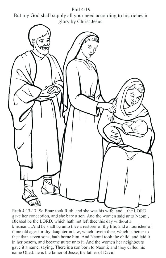 704x1092 Ruth And Naomi Coloring Page