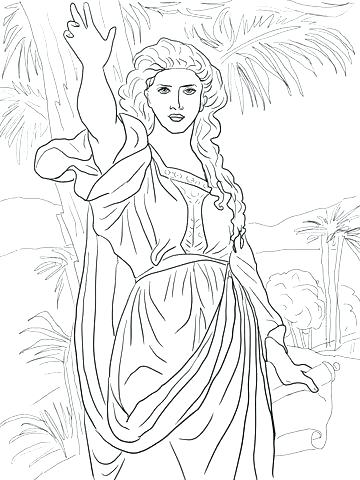 360x480 Ruth And Naomi Coloring Page