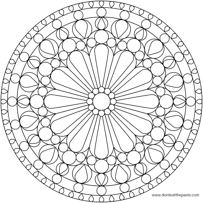 Sacred Geometry Coloring Pages
