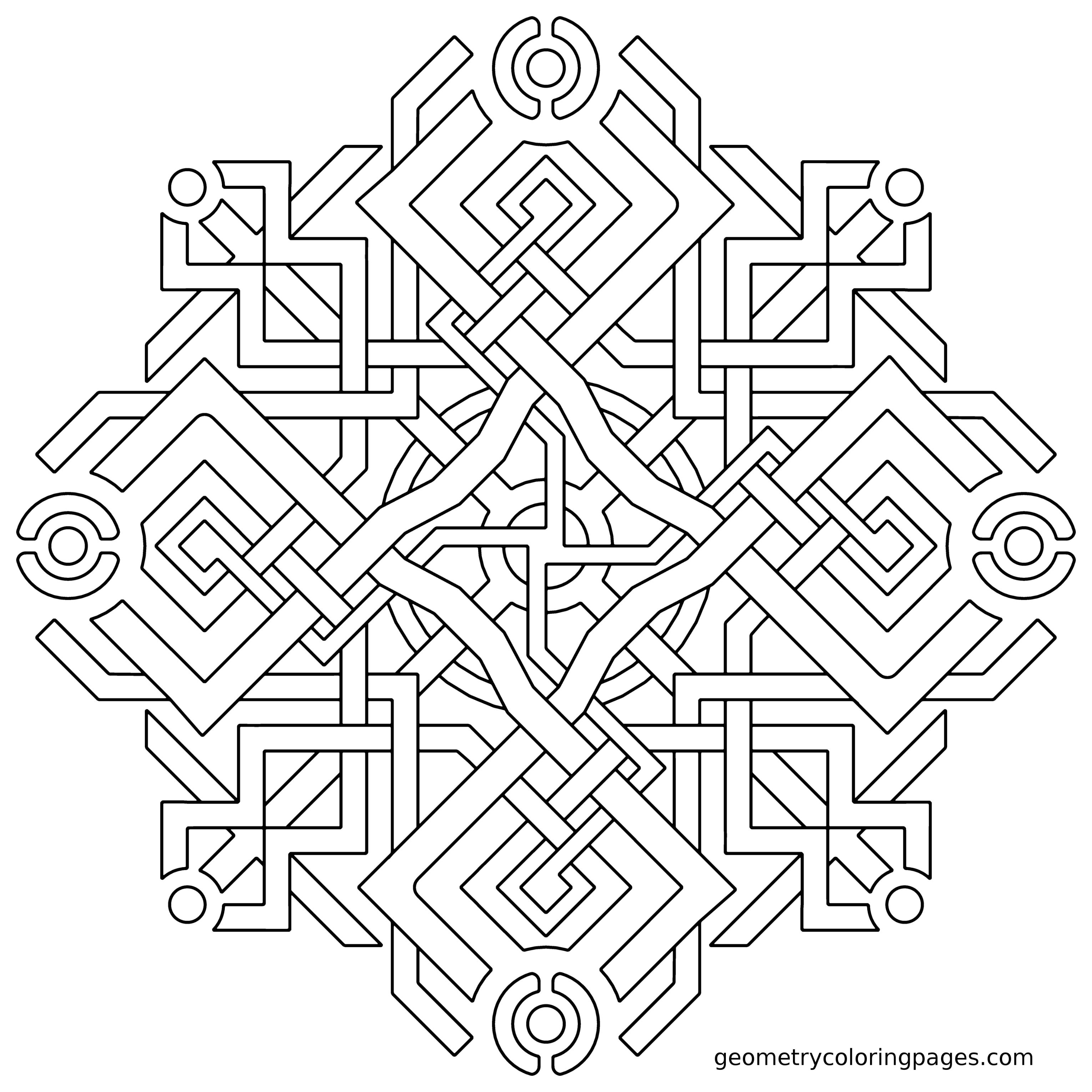 Sacred Geometry Coloring Pages at GetDrawings.com | Free for ...