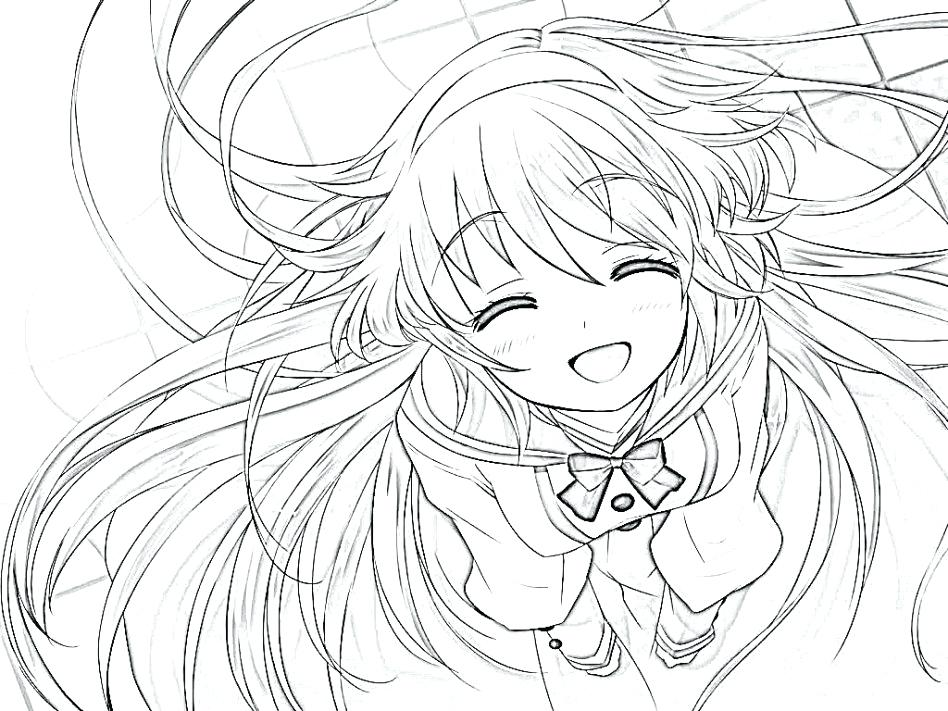 948x711 Anime Coloring Pages Unique Anime Coloring Pages And Pics Of Sad