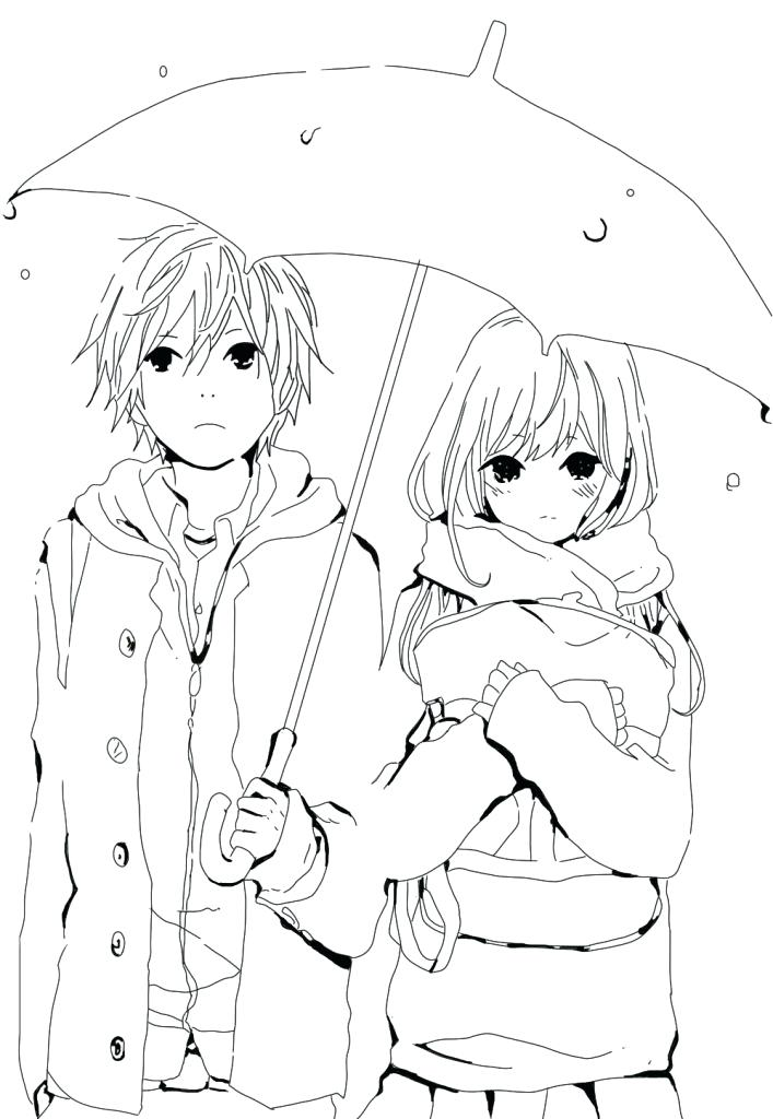 707x1024 Fresh Anime Coloring Pages Or Fancy Anime Couple Coloring Pages
