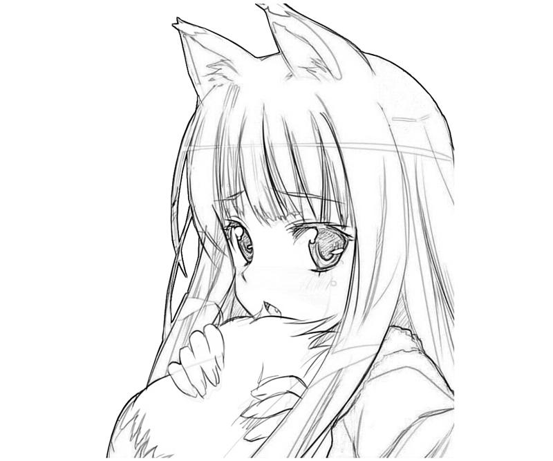 Sad Anime Coloring Pages At Getdrawings Com Free For Personal Use