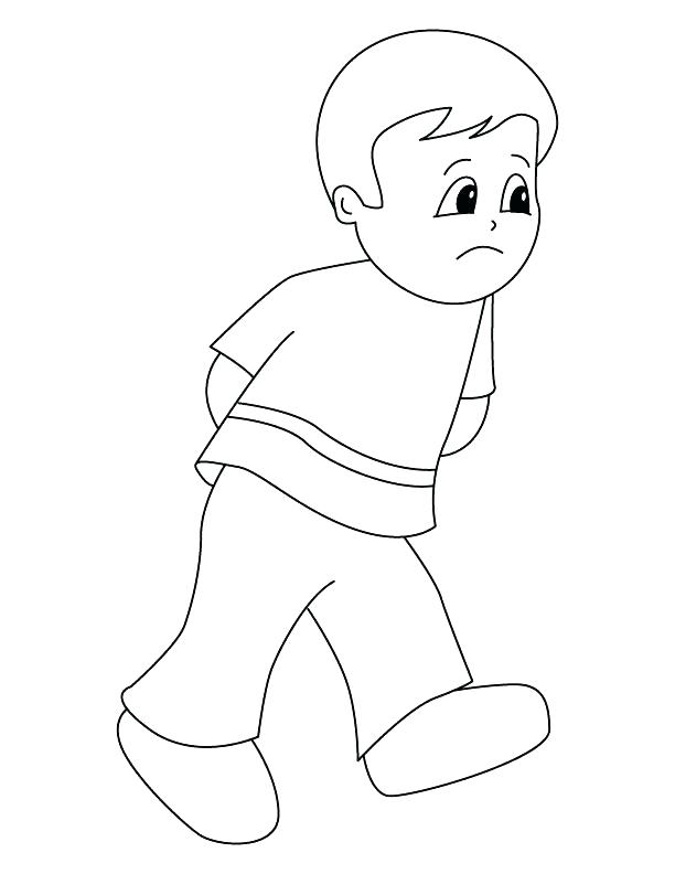 612x792 Sad Face Coloring Page Face Coloring Pages Printable Sad Face