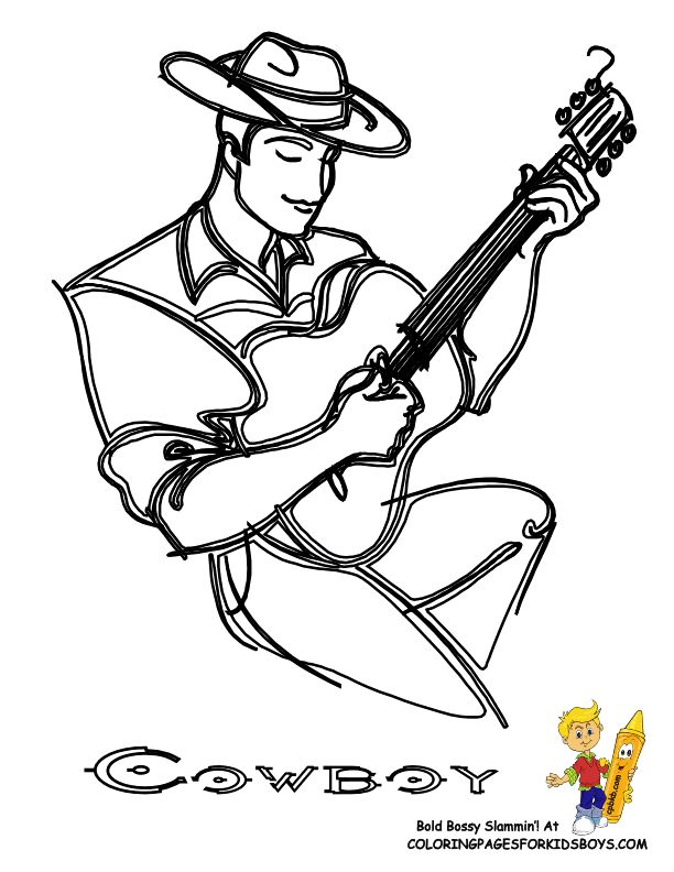 Saddle Coloring Pages