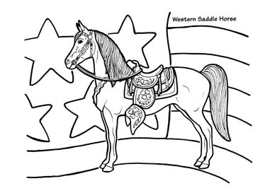 381x273 Horse And Cart Coloring Pages