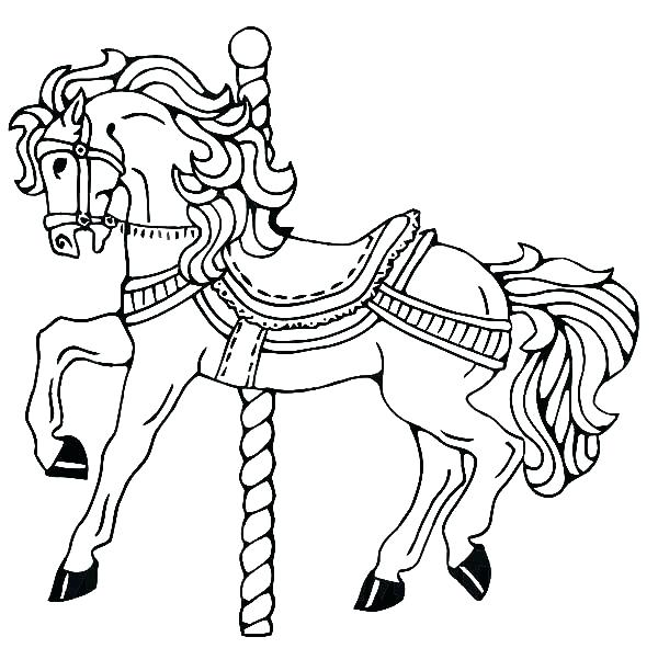 600x612 Horse Coloring Pages Kids Coloring Coloring Page Coloring Page