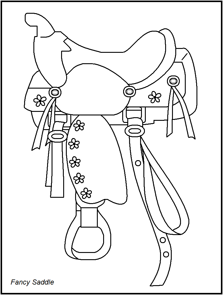 748x989 Rodeo Coloring Pages