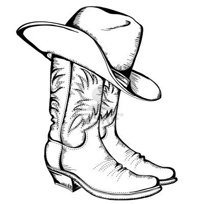 400x400 Western Saddle Coloring Pages