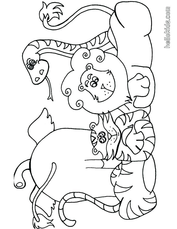 736x951 Printable Baby Safari Animals Safari Animal Coloring Pages