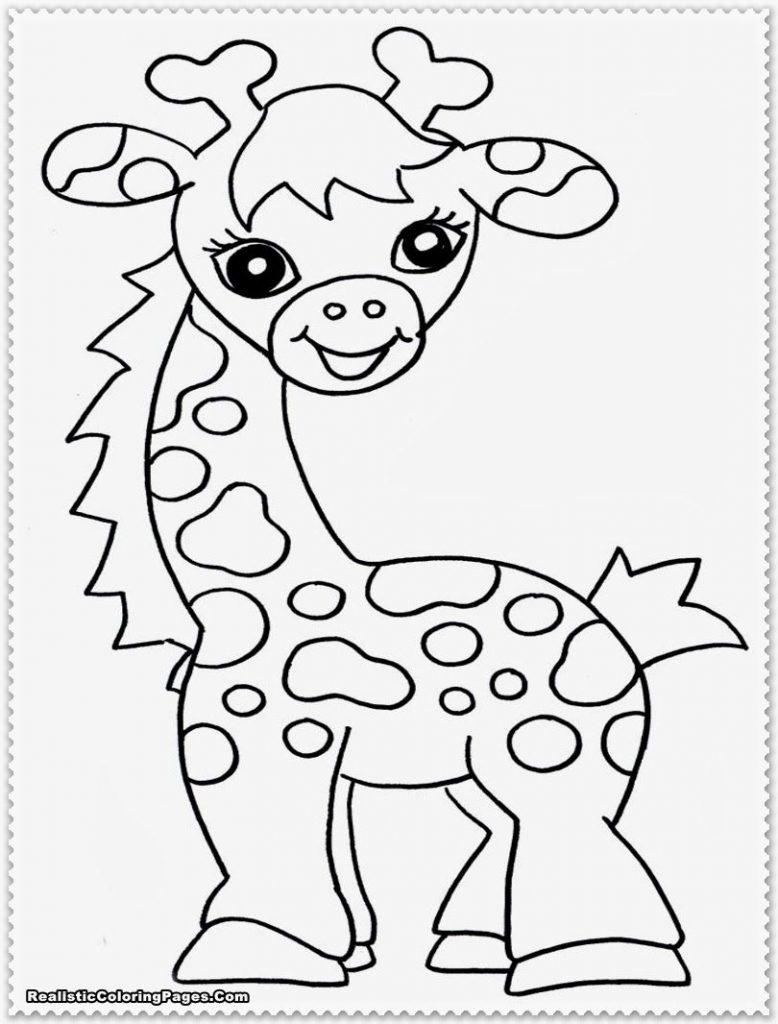 778x1024 Safari Animals Coloring Pages