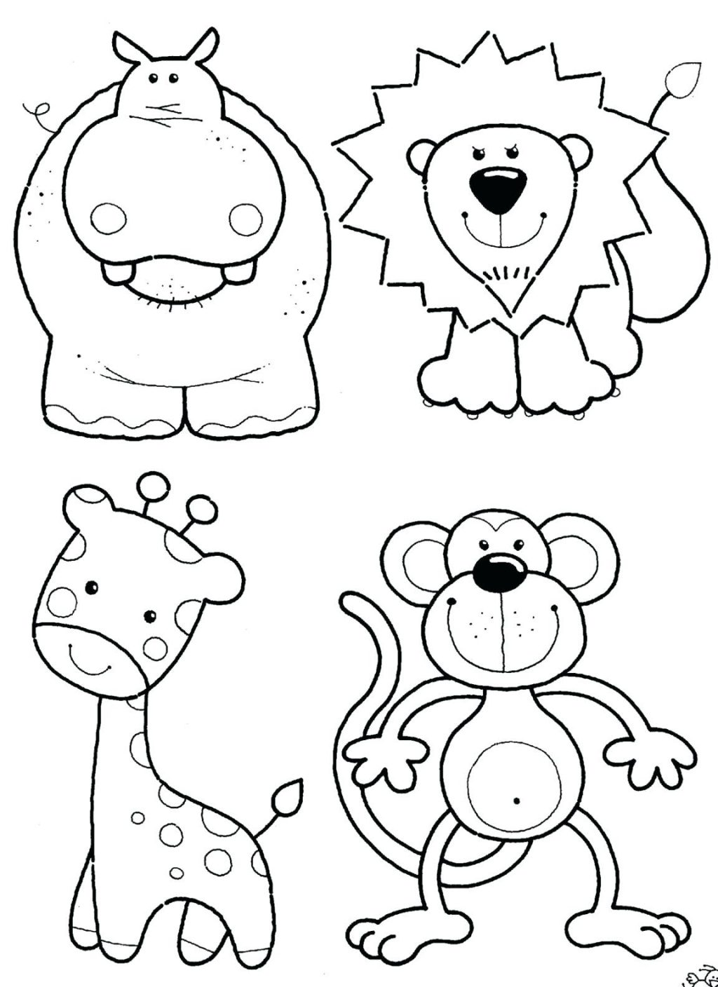 1024x1408 Coloring Pages Safari Coloring Pages Animal Jungle Wildlife