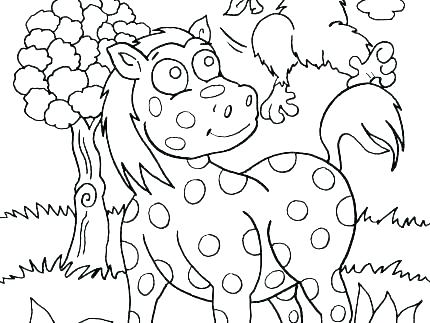 430x323 Coloring Pages Jungle Animals Safari Animal Jungle Animals