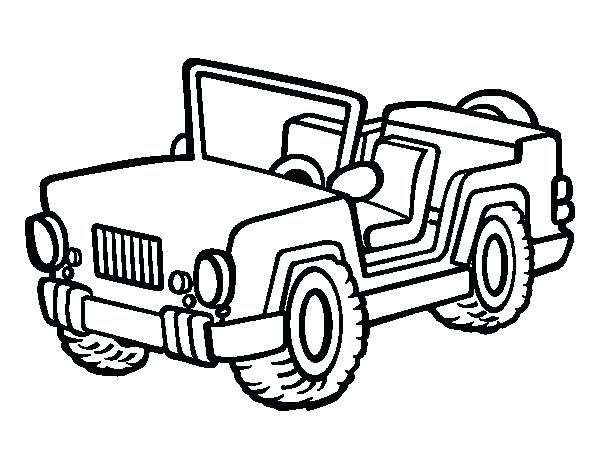 600x470 Jeep Coloring Pages Jeep Coloring Page Safari Jeep Coloring Pages