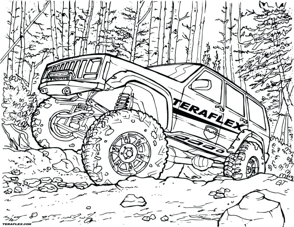 948x733 Jeep Coloring Pages Jeep Coloring Pages Creative Coloring Page