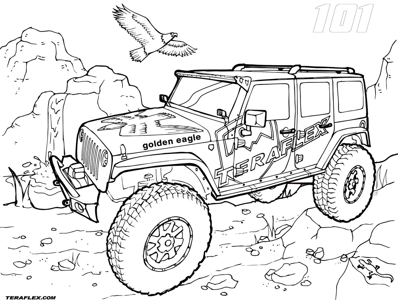 1392x1050 Armyp Colouring Pages Rubicon Coloring Wrangler Sheets Military
