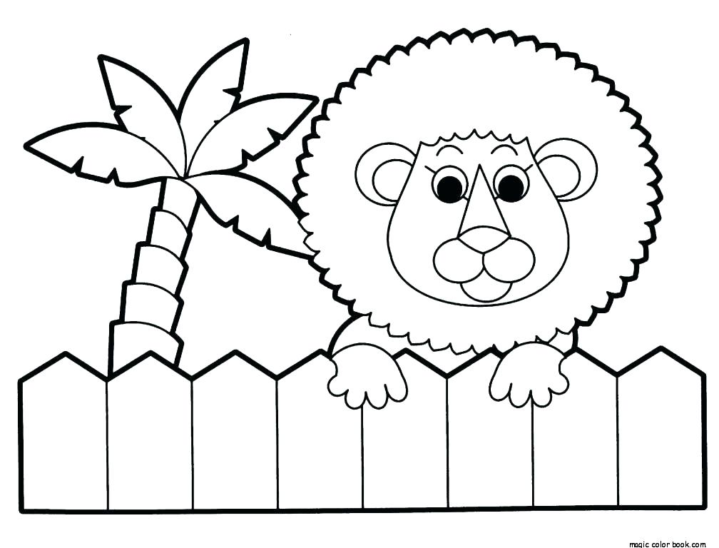 1008x768 Jungle Animal Coloring Pages Safari Coloring Pages Printable