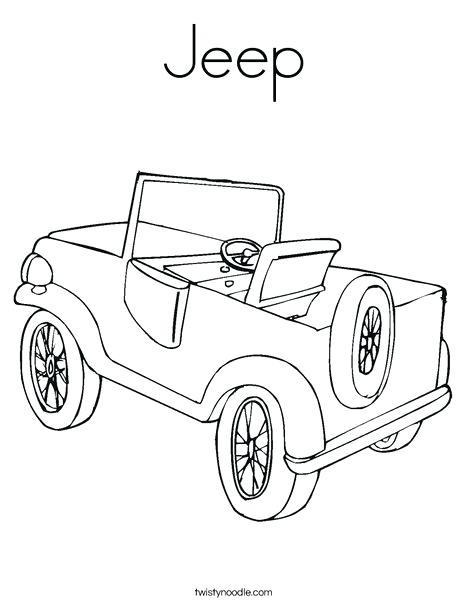468x605 Jeep Coloring Page Jeep Coloring Page Safari Jeep Colouring Pages