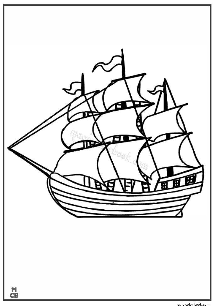 Sailing Boat Line Drawing At Getdrawings Com