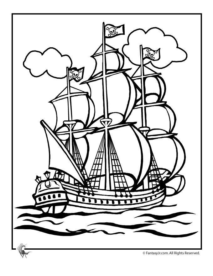 680x880 Ship Coloring Pages Printable Coloring Pages