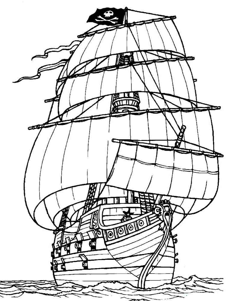 750x1000 Boats And Ships Coloring Pages Download And Print Boats And Ships