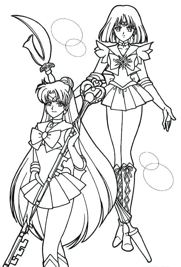 600x883 Sailor Moon Coloring Page Sailor Moon And Sailor Moon Coloring