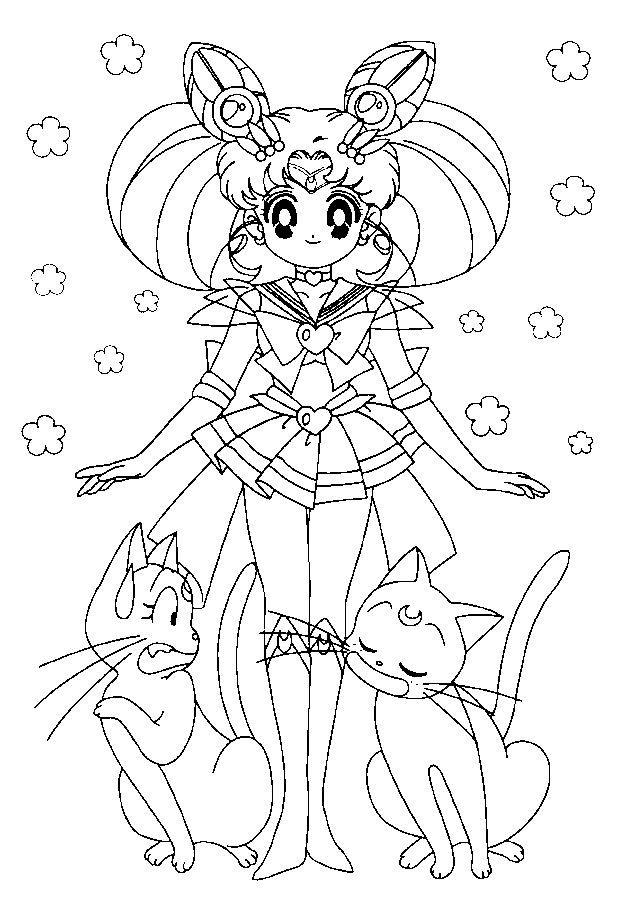 617x900 Coloriage Pour Enfant Sailor Moon Coloriage Pour Enfant Est Un