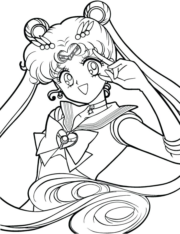 736x956 Sailor Moon Coloring Pages Sailor Moon Coloring Pages Sailor Moon