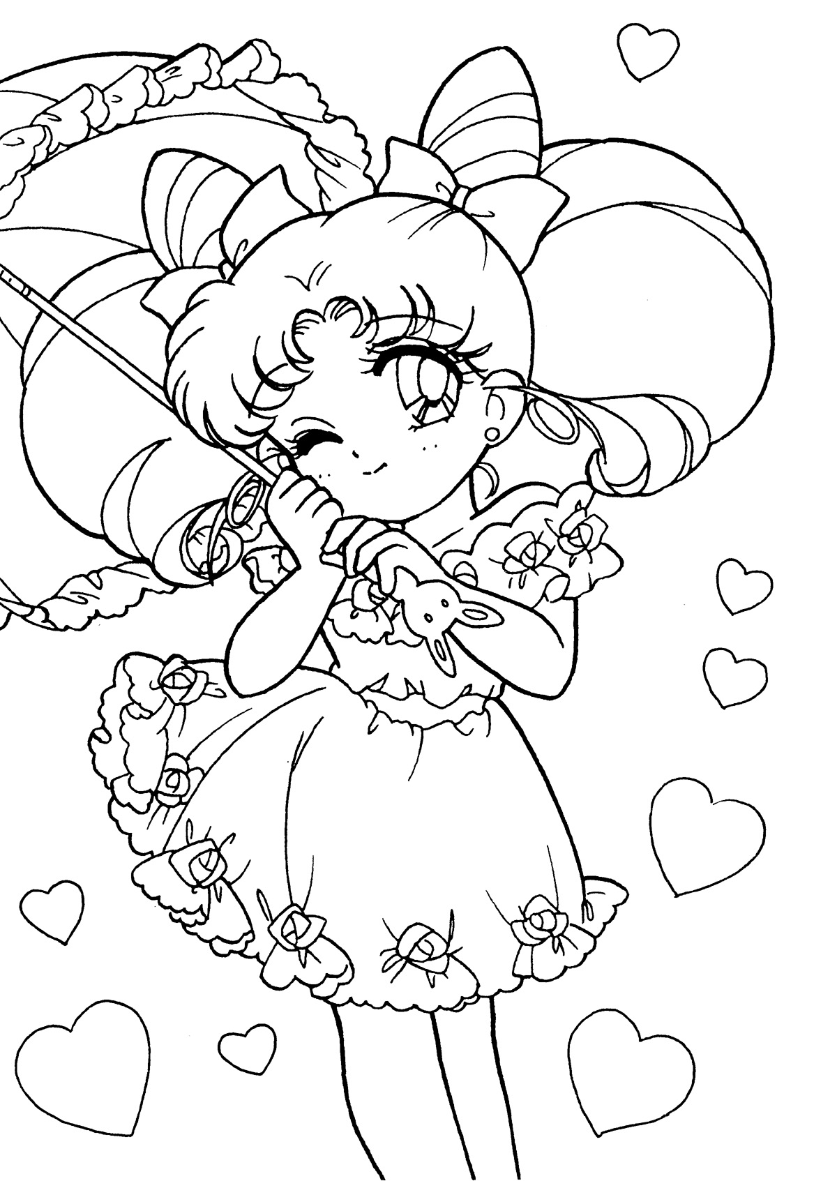 Sailor Moon Coloring Pages At Getdrawingscom Free For Personal