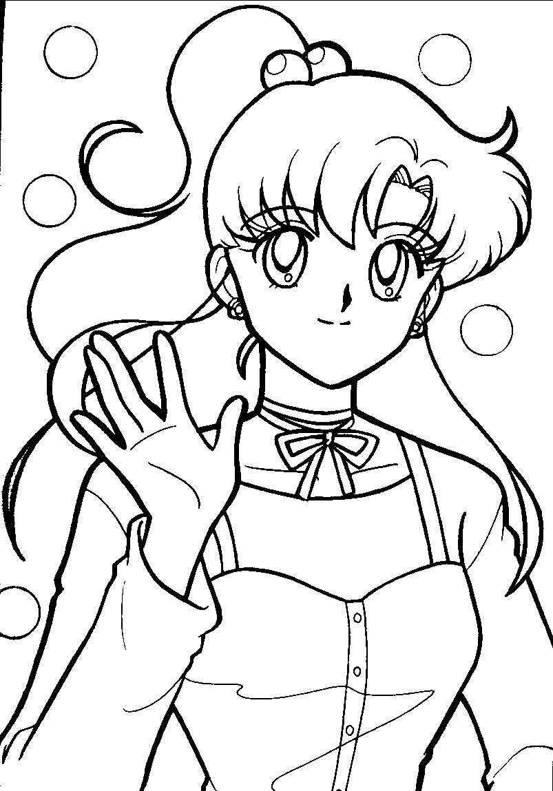 803x1149 Moon Coloring Pages Beautiful Sailor Moon Group Coloring Pages