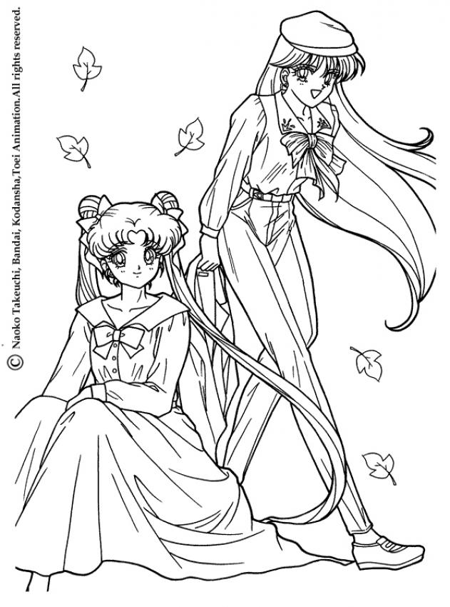 Sailor Moon Princess Coloring Pages at GetDrawings.com | Free for ...