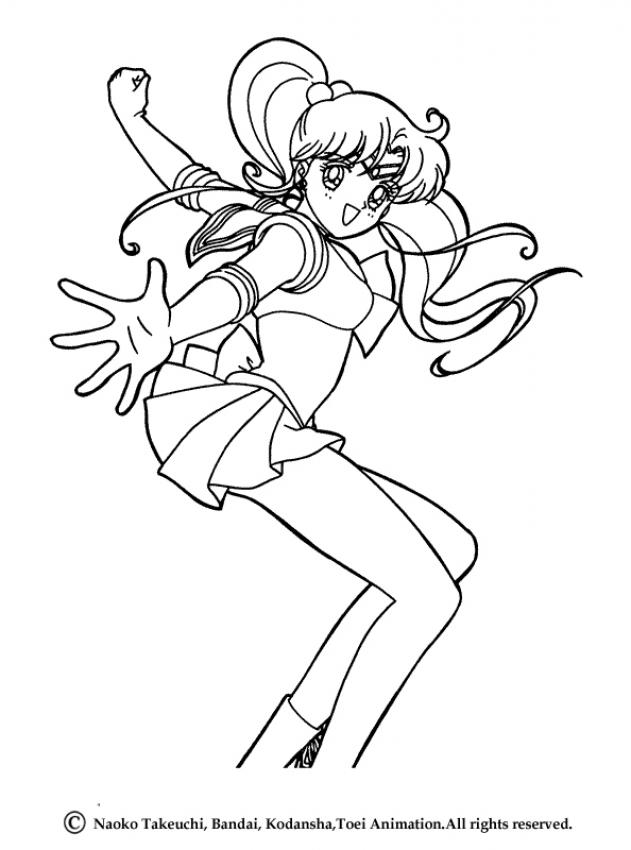 631x850 Sailor Moon Coloring Pages