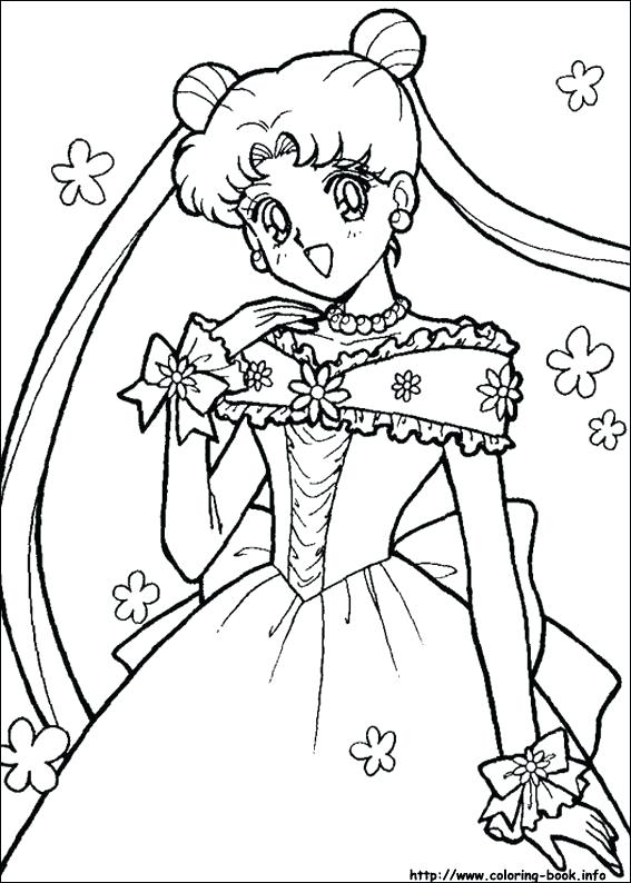 567x794 Sailor Moon Coloring Pages On Coloring Sailor Moon Coloring Pages
