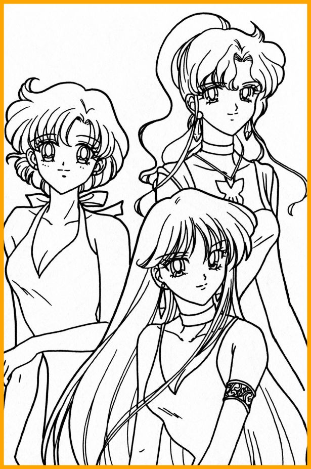 615x927 Shocking Excellent Sailor Moon Coloring Pages Jupiter Contemporary