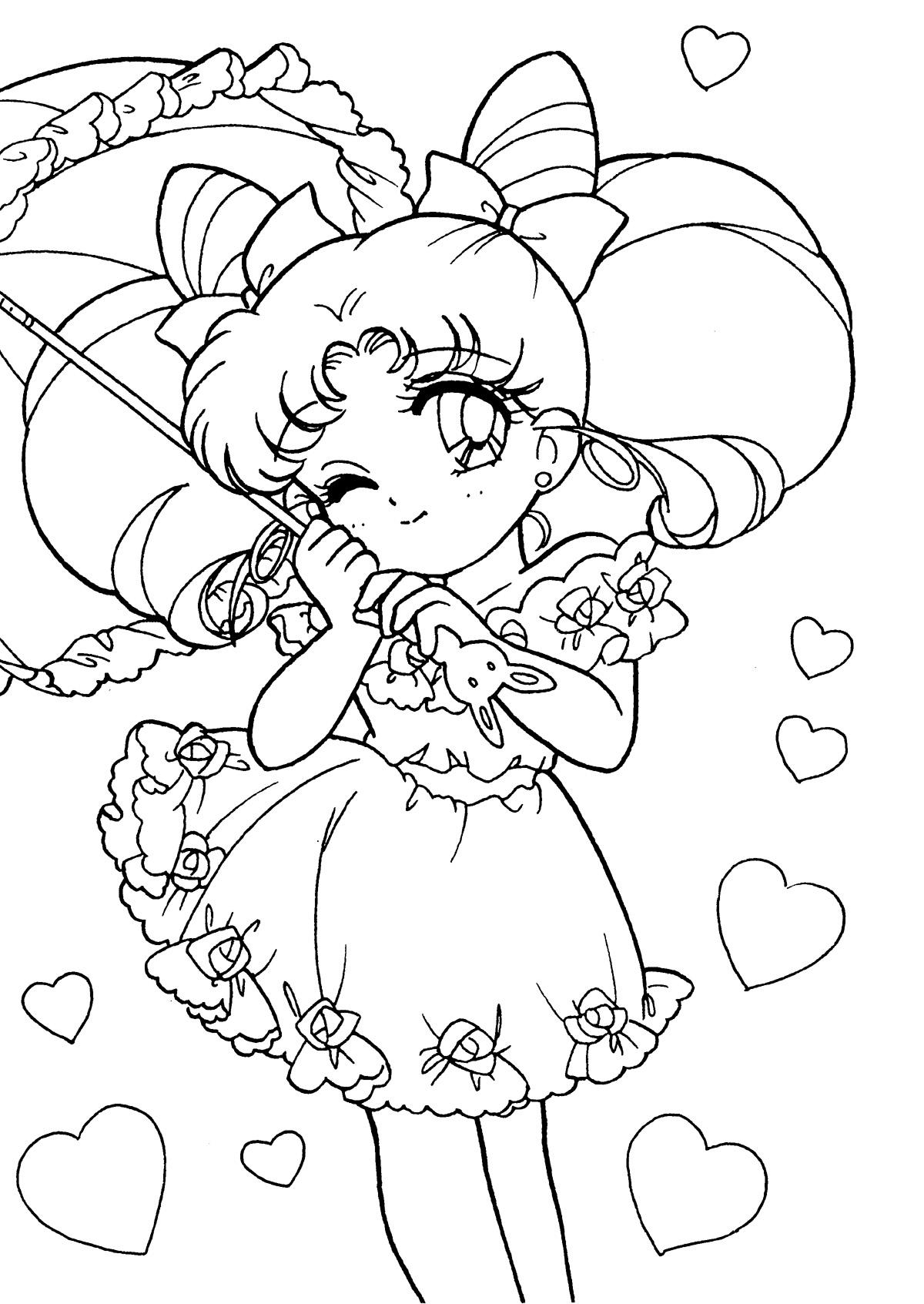 1200x1693 Wonderful Sailor Moon Coloring Pages Online