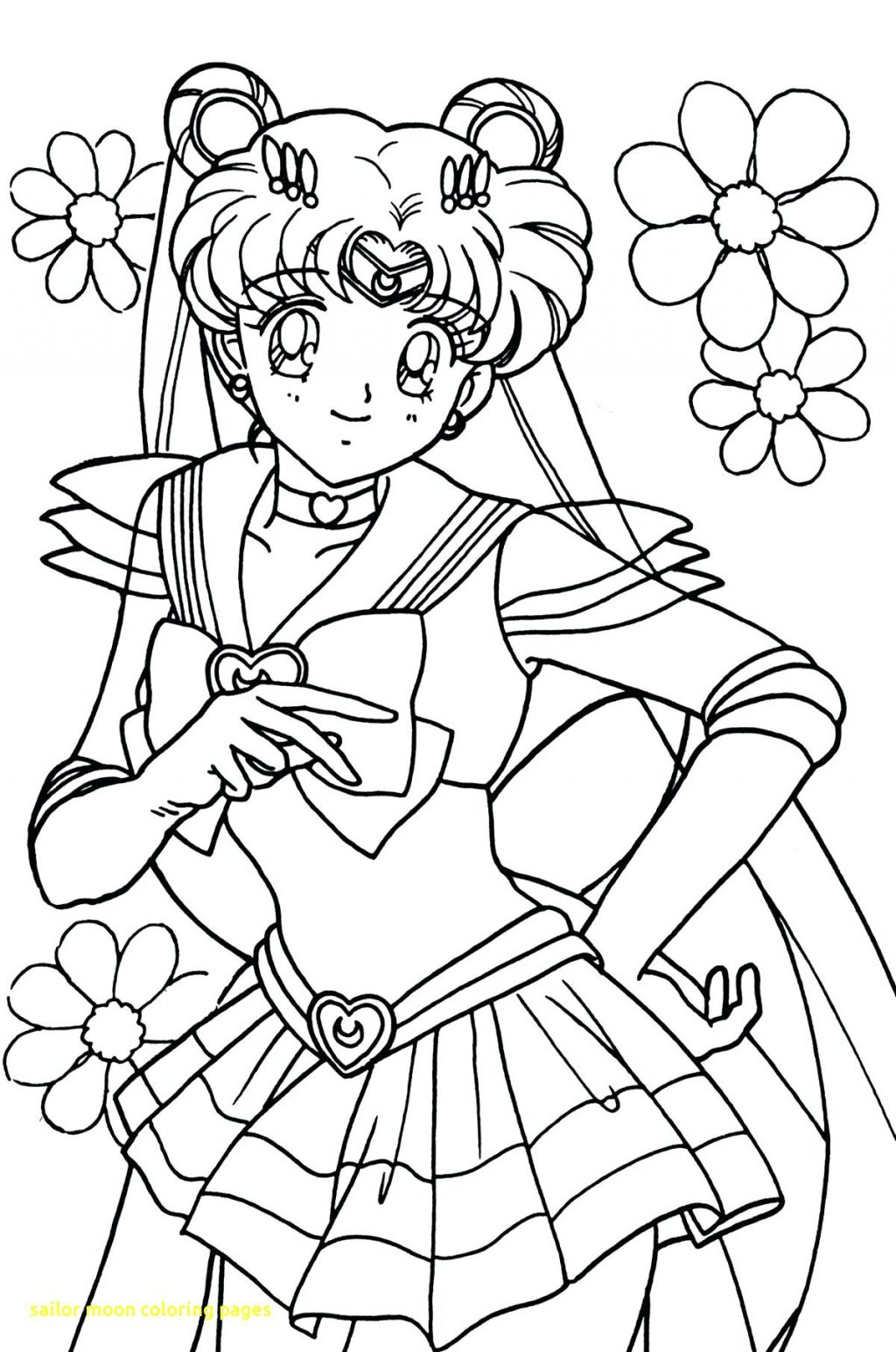 1024x1545 Coloring Pages Sailor Moon Coloring Pages With The Doll Palace