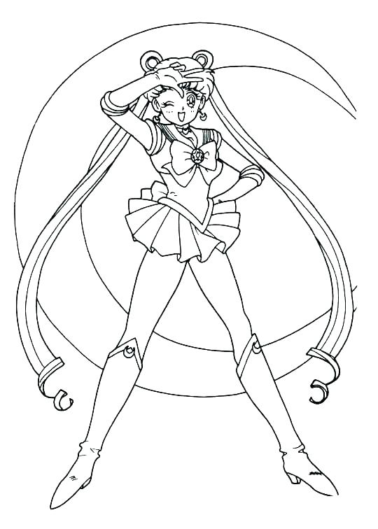540x756 Coloring Pages Of The Moon Coloring Sailor Moon Sailor Moon