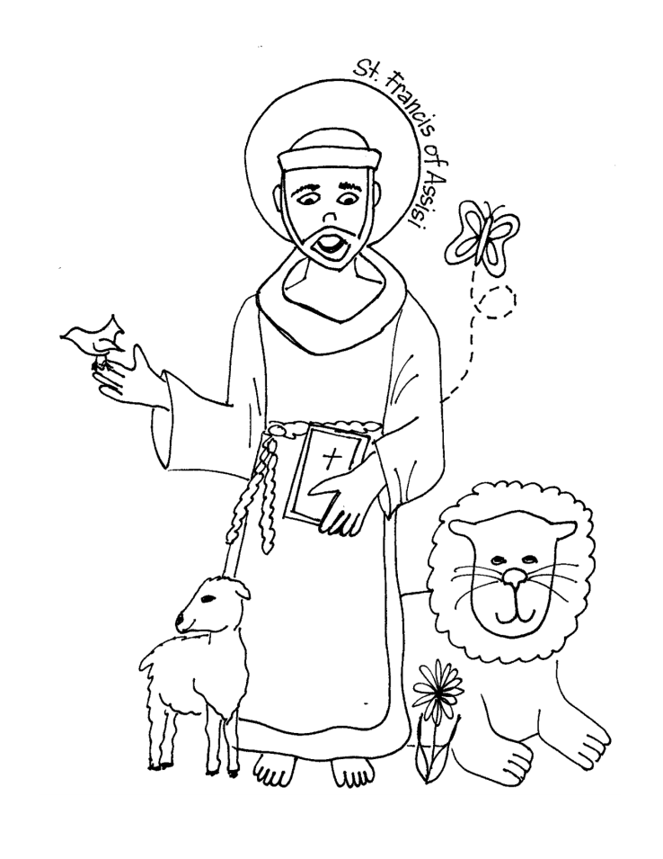 738x955 Best Of St Francis Xavier Coloring Page Coloring Pages