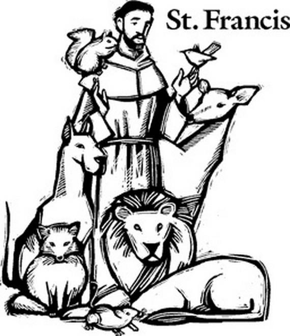 570x661 Saint Joseph Coloring Page Elegant St Francis Of Assisi Coloring